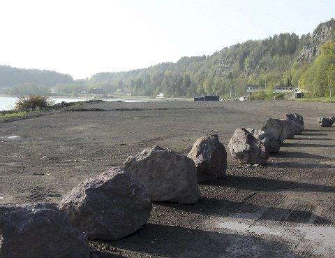 ANLEGGSPLANER: NOAH planlegger å bygge nytt kaianlegg sør for Felleskjøpet. FOTO: JARL REHN-ERICHSEN