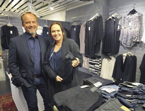 Støtte: Andreas Rødsand og Sonia Dina Høilund. Rødsand sier han har stor støtte i Sonia Dina.Foto: Lofotposten