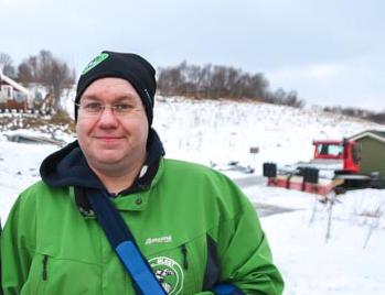 Leder Raimond Grimstad i skigruppa i IL Blest.