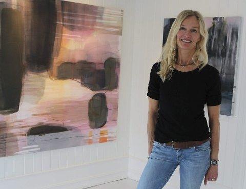 «PHASES»: Tone Behncke har kalt utstillingen i Son for «Phases».