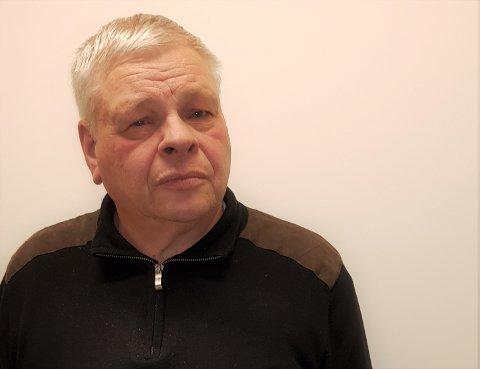 KREVER BEKLAGELSE: Per Flågan er forbannet etter at Namdal historielag omtalte faren hans, Anders Flågan, som «nazi-lensmann» i sin nye årbok.