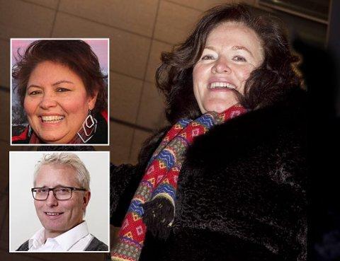 SØKERE: Mariam Rapp (innfelt), Frode Nilssen (innfelt) og Sidsel Helene Meyer er søkere til stillingen som etatasjef i Næringsetaten i Troms fylke.