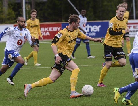 TILBAKE: Kristian Lønstad Onsrud er tilbake på et skadeskutt Raufoss-lag i helgens oppgjør mot Ranheim.ARKIVbilde