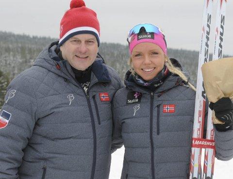 BEKYMRET: Skipresident Erik Røste er bekymret over milde og grønne vintere og at skisporten ikke skal rekruttere    talenter som Marte Mæhlum Johansen.Arkivbilde