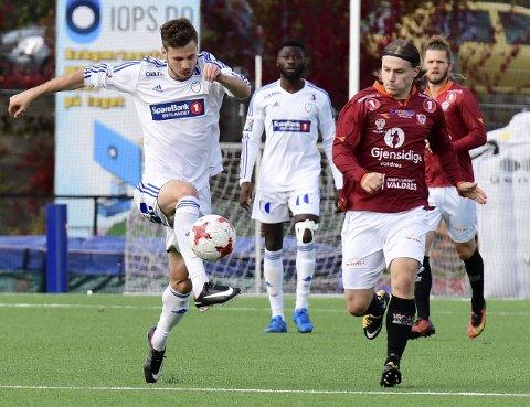 Lars Johan Kollshaugen og FK Gjøvik-Lyn møter Tillerbyen på Gjøvik stadion lørdag.