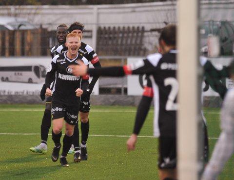 Kristoffer Nessø scoret to glimrende mål da Raufoss vant stort over Grorud.