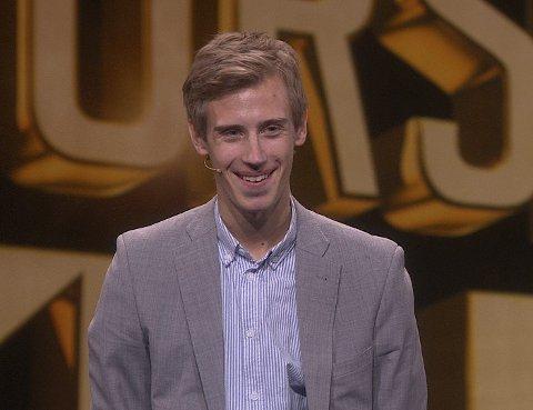 TV-DEBUTERER: Fredrik Moe (23) skal underholde med tryllingen sin på Norske Talenter kl. 20.00 på TV2 fredag.