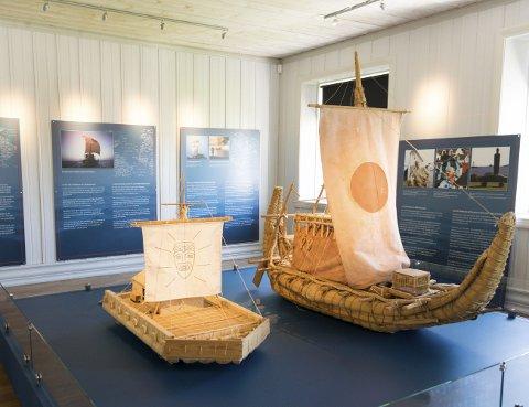 Heyerdahl: Thor Heyerdahls reiser er selvskrevne når Larviks oppdagere og eventyrere skal presenteres.