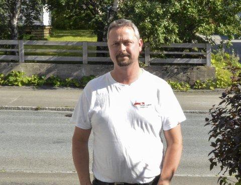 Leder i Rana Arbeiderparti, Lars Frøysa. Arkivfoto