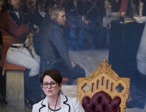 STORTINGSPRESIDENT: RBs gjesteskribent Tone W. Trøen fra Eidsvoll oppsummerer det første året som stortingspresident.