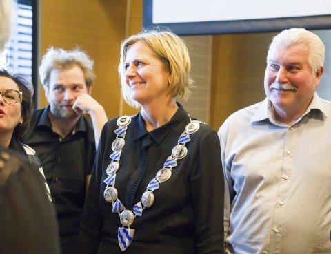 ENIGHET: Den en rørende enighet mellom Høyre og Ap i Hurum, så lenge det varer?Foto: Bente Elmung