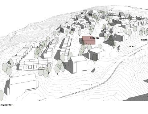 VENTE: Utbyggerne i Høymyråsen ved Rustadveien må trolig vente med sitt prosjekt på 300 boliger.