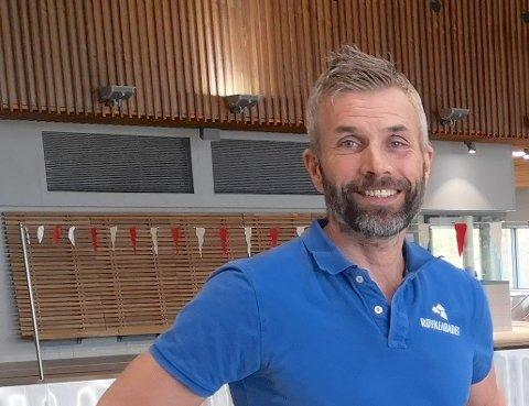 ÅPNER: Erik Schreuder er klar for å gjenåpne anlegget til mandag..
