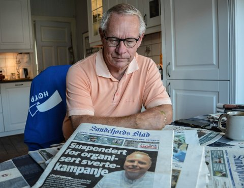ALMÅSSAKEN: Tor Steinar Mathiassen er én av de fire høyremedlemmene Pail Almås ønsker ut av politikken.  – Det er mye ved BCC som vi bør finne mer ut av, sier han.
