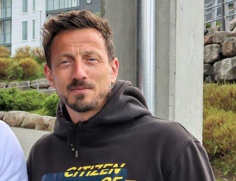 Kjartan Salvesen (44) fra Sandnes forteller at han liker å planlegge.
