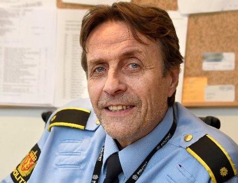 INNBRUDD: Politiførstebetjent Niels Lund ønsker tips fra publikum rundt innbruddet i våningshuset.