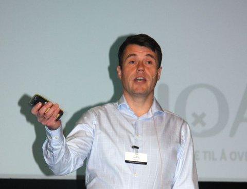 SLUTTET: Utviklingssjef Morten Breinholt Jensen i NOAH AS sluttet i selskapet denne uka.