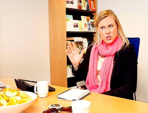 BEKLAGELEG: Stortingsrepresentant Lene Vågslid (Ap) reagerer på grunngjevinga frå Justisminister Per-Willy Amundsen (FrP).