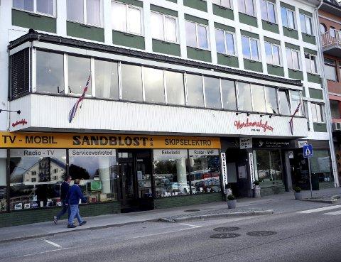 Hyblene i de tidligere kafélokalene vil ligge noen få meter unna planlagte Campus Kristiansund.