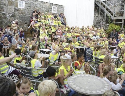 Barnas bokby: Museumshaven har brukt å være arena for ulike arrangementer for barn i regi av Bokbyen. Nå håper og planlgger foreningen Bokbyen Tvedestrand for slike arrangementer i sommer også. Arkivfoto