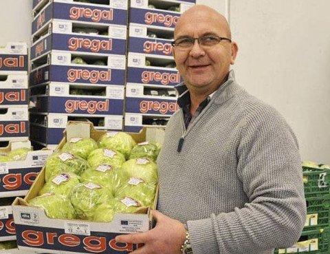 GODT ÅR - IGJEN: Frukt- og grønnsaksgrossisten, blant annet, på Moland kan igjen vise til gode tall ifølge regnskapet. Her er eieren og driveren Anders Lunde fra en tidligere sak.