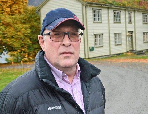 Finn Moe Stene er daglig leder i Sparebankstiftelsen Tingvoll. (Arkiv)