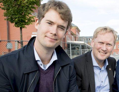 Sosialbyråd Erlend Horn (V) og byrådsleder Harald Schjelderup (Ap) har bestemt seg for ikke å røre den kommunale bostøtten de kommende årene.