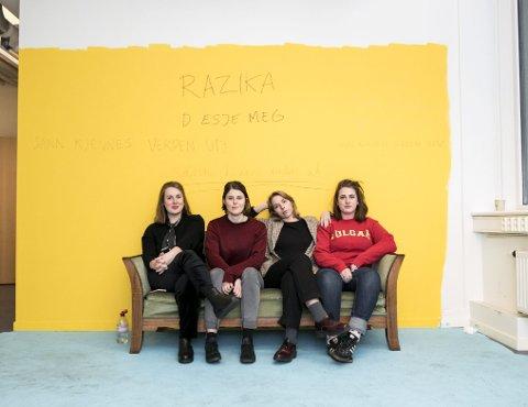 Marie Amdam, Marie Moe, Maria Råkil og Embla Karidotter har staket ut en ny kurs med sitt fjerde album. På nyåret drar de på turné og spiller på USF Verftet 19. januar.
