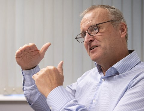 – Fallet på 2,1 prosent er en mer negativ prisutvikling enn vi hadde håpet og trodd på, sier områdeleder i DNB Eiendom Bergen, Leif Kristian Garvik.