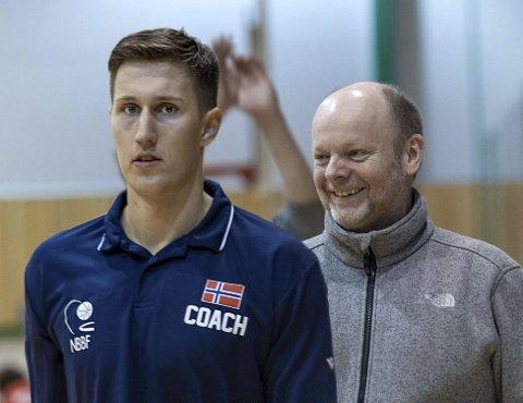 Arne Ingebrigtsen og Baard Stoller skal løfte Frøya til nye høyder, både med eliteserielaget og i breddeavdelingen.