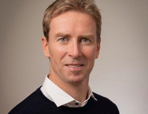 Ordfører: Stian Gill Bjørsvik forteller om positive meldinger for samfunnet han er øverste politiske leder for.