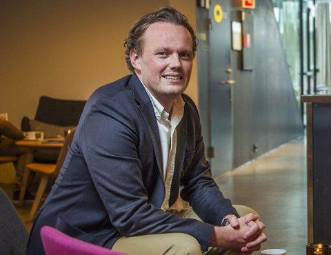 På topp: Daglig leder ved Havnelageret, Erik Magnus Fredriksen (33), tjente mest blant aktørene i utelivet i Fredrikstad i fjor.