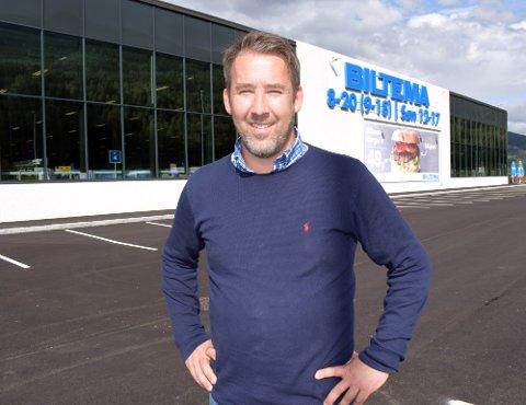 Dag H.  Bergby har klatret oppover i Biltema-systemet, og er i dag  administrerende direktør. Selskapet selger 19.000 forskjellige artikler innenfor åtte produktområder.