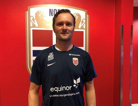 NY JOBB: Jan Peder Jalland takker for seg i Stabæk, og blir ny ungdomslandslagstrener i Norges Fotballforbund.