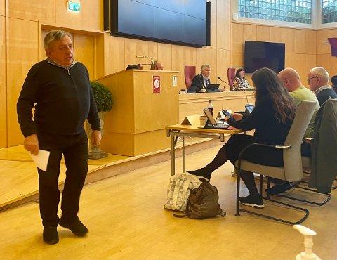 ENGASJERT: Zvonimir Vojtulek (Krf) var aktiv i debatten om sykehjemmene i Horten.