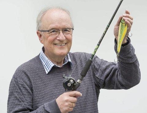 RESPEKT: Odd Hagen vil gjerne fiske stemmer, men er forsiktig i valg av åte. – Jeg vil ikke love for mye, sier KrF-veteranen. FOTO: Jens Haugen
