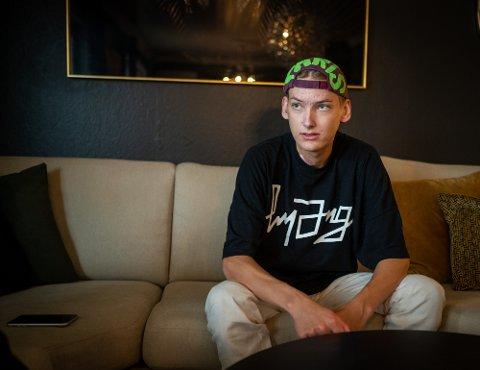 ALVORLIG SYK: Victor Dyreng har fått diagnosen akutt blodkreft. Beskjeden fikk han for få uker siden.