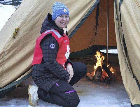 LEDER: Yvonne Bjerke i Barnas Turlag inviterer til Brovoll søndag.