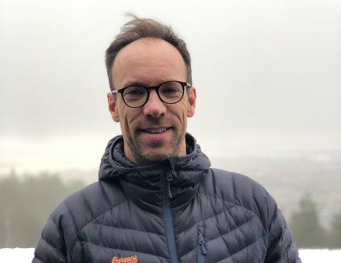 PROST: Christofer Solbakken (50) er ny prost i Hadeland og Land.