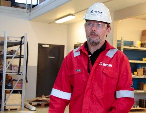 KNALLTØFT: Administrerende direktør i PDS Mecan, Geir Ivar Seime, beskriver tøffe tider i bedriften.