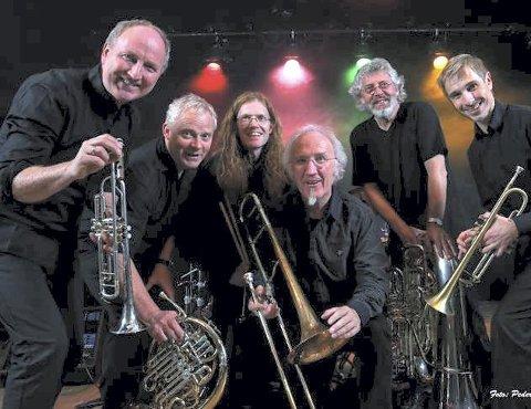 Til Biorama: Jazz-veteranene i The Brazz Brothers deler scene med Holmestrand Skolekorps førstkommende lørdag.foto: peder-otto dybvik