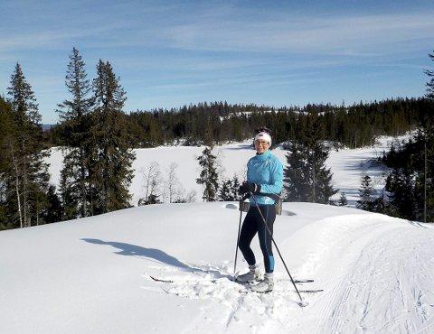 Flott utsikt: Gravdalsrunden på Vestskauen har noen tøffe stigninger, konstaterer Marta Kulokowski. Foto: Lars Ivar Hordnes