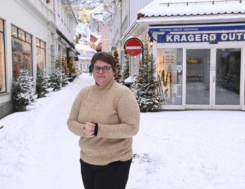 Janna Pihl mener at Kragerø tross alt har kommet rimelig bra fra pandemien.