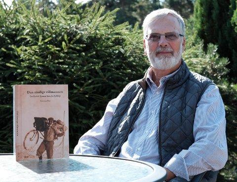 NY BOK: Kristian Hus har skrive bok om eventyraren Tjerand Aske frå Fjelberg, som kjem ut i desse dagar. (Pressefoto).