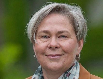 LEDER:Tone Merete Svenkerud er kommunalsjef for helse og omsorg i Kongsberg. Hun orienterte politikerne om behovet for faglig påfyll innen helse og omsorg.