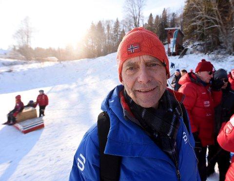 SKIKRETSLEDER: Steinar Berthelsen, lederen i Buskerud skikrets, ber sammen med resten av styret om at det holdes ekstraordinært skiting. FOTO: OLE JOHN HOSTVEDT