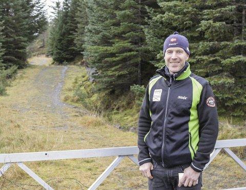 Inge Harald Olsen, ildsjel i Leknes skiklubb.