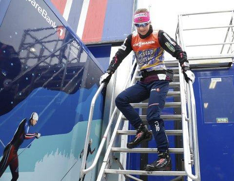Fullt firsprang: Ingvild Flugstad Østberg er klar for å gyve løs på de tre siste etappene i Tour de Ski. Foto: Terje Pedersen, NTB Scanpix
