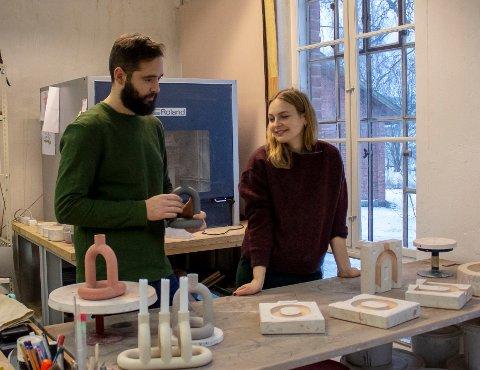 «KAPP»: Lysestaken til  Cosmin Cioroiu og Kathrine Lønstad skal innlemmes i Nasjonalmuseets permanente samling fra 2020.