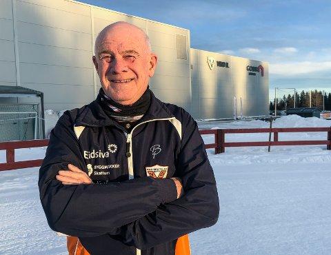PENSJONIST: Kolbjørn Asphaug gir seg som regnskapsfører i Vind IL - men vil fortsatt ha mange jern i ilden i klubben.